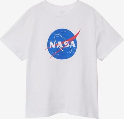 MANGO KIDS T-Shirt 'NASA' in royalblau / hellrot / weiß, Produktansicht