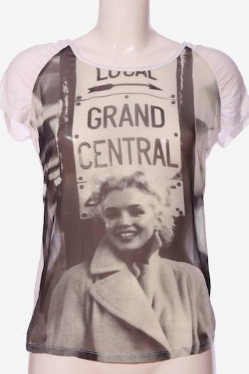 Tramontana Kurzarm-Bluse in S in wollweiß, Produktansicht