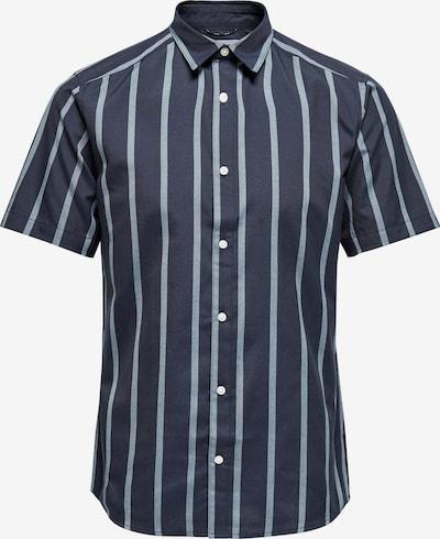 Only & Sons Košile 'TRAVIS' - námořnická modř / světlemodrá, Produkt