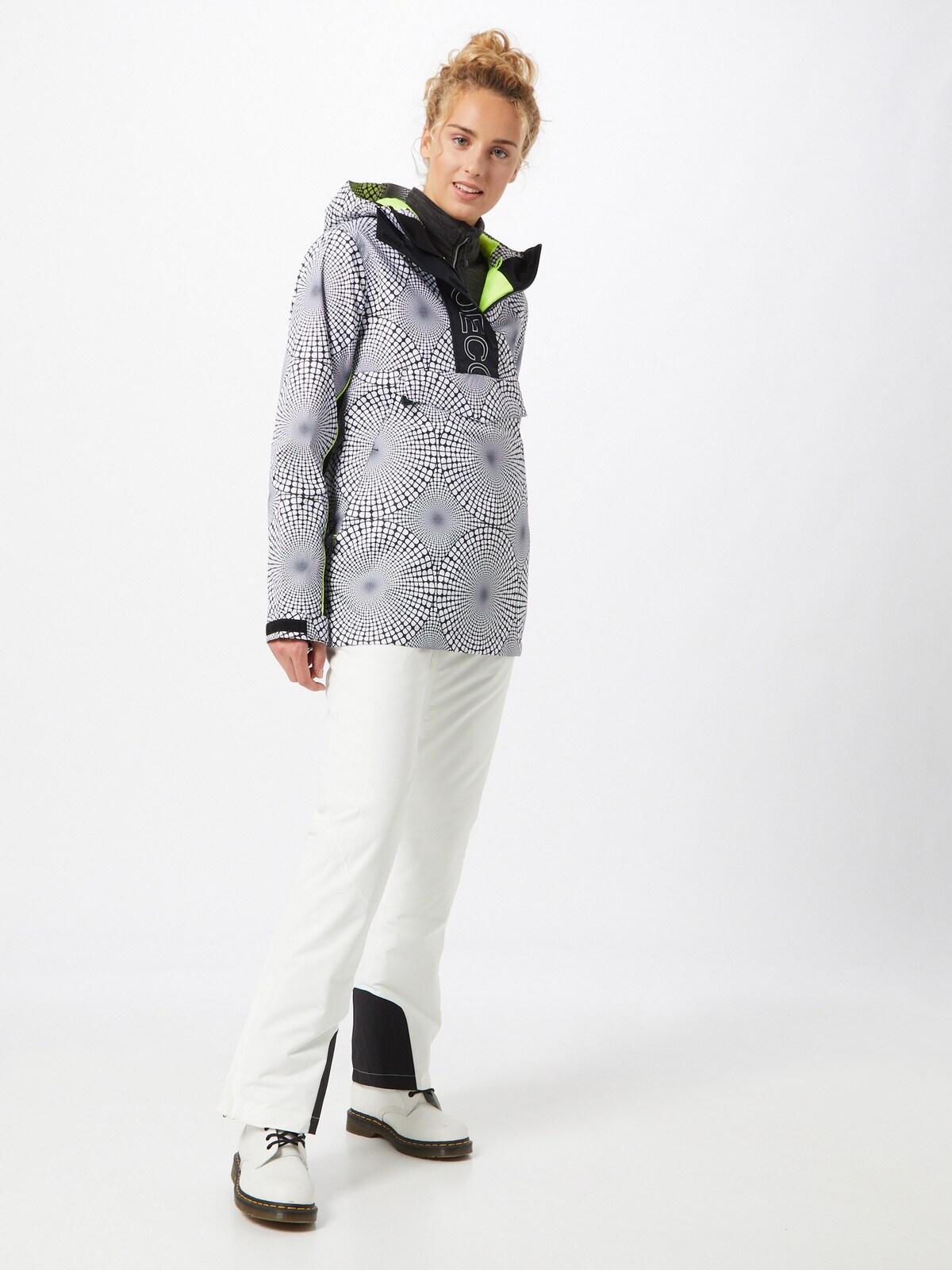 Kleding voor Dames DC Shoes Winterjas 'Envy' in Zwart / Wit