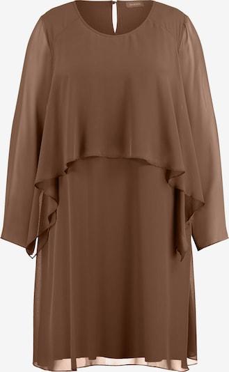 SAMOON Kleid in schoko, Produktansicht