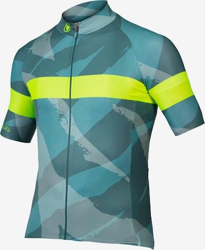 ENDURA Funktionsshirt 'Canimal' in hellblau / dunkelblau / neongelb, Produktansicht