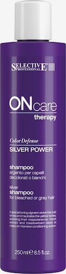 Selective Professional Haarshampoo 'On Care Silver Power' in lila, Produktansicht
