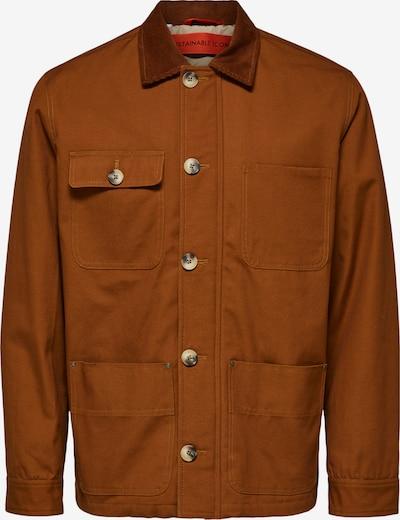 SELECTED HOMME Jacke in cognac, Produktansicht