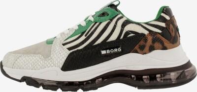BJÖRN BORG Sneakers laag 'X500 PON ZBR' in de kleur Gemengde kleuren: Vooraanzicht