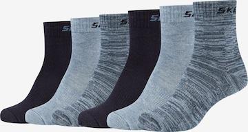SKECHERS Socken 'Mesh Ventilation' in Grau