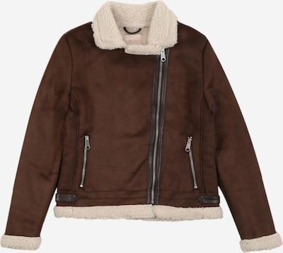 KIDS ONLY Přechodná bunda 'Diana' - tmavě hnědá / barva bílé vlny, Produkt