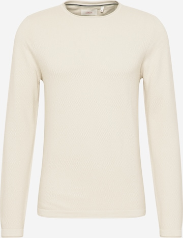 s.Oliver Pullover in Weiß