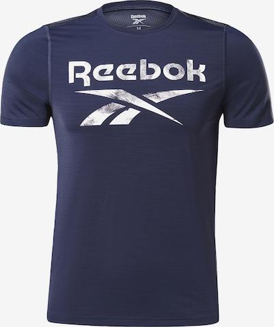 REEBOK T-Shirt in navy / weiß, Produktansicht