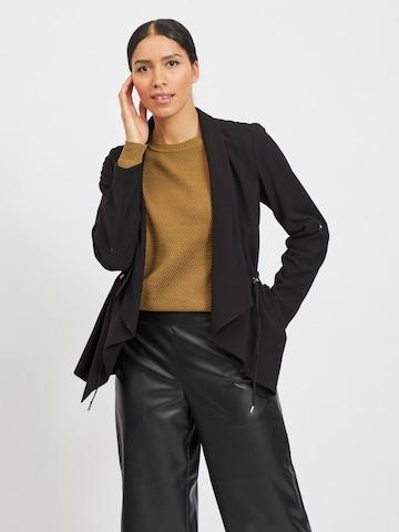 VILA Knit Cardigan 'Adie' in Black