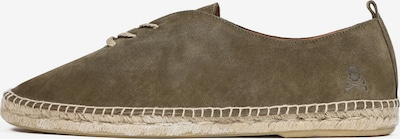 Scalpers Espadrilles 'Mahon' in grau / khaki, Produktansicht