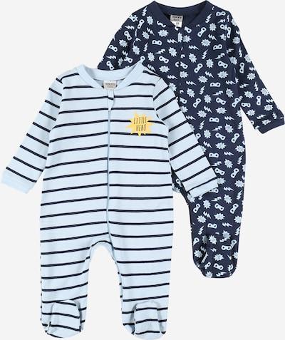 Pijamale Boley pe albastru marin / albastru deschis, Vizualizare produs