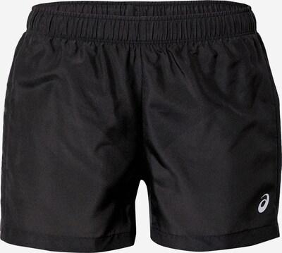 ASICS Pantalon de sport en noir / blanc, Vue avec produit