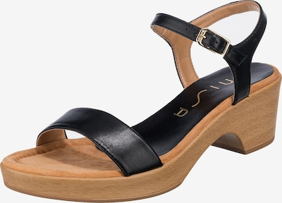 UNISA Sandalette 'Irita' in schwarz, Produktansicht