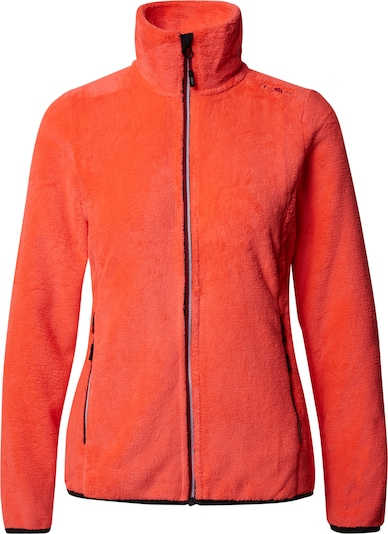 CMP Functionele fleece jas in de kleur Sinaasappel, Productweergave