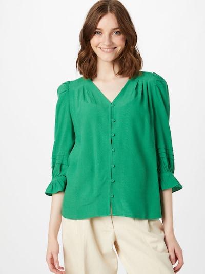 Noa Noa Bluse in grün, Modelansicht