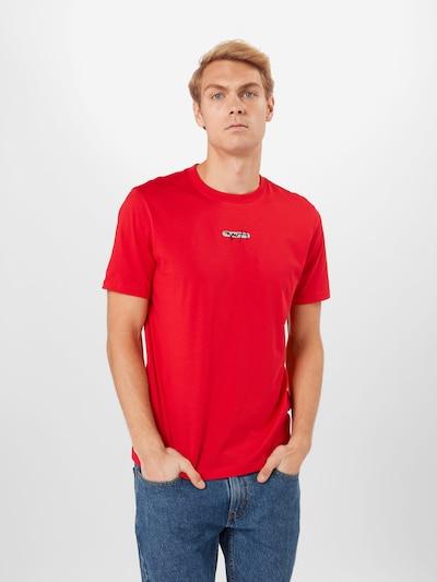 Marškinėliai 'Durned_U211' iš HUGO , spalva - raudona: Vaizdas iš priekio