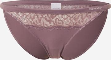 Slip de la Calvin Klein Underwear pe mov
