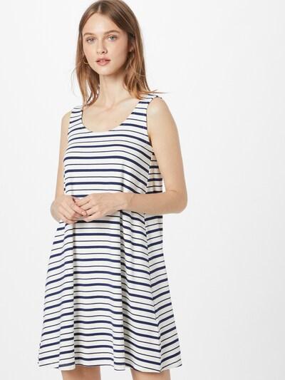 Rochie de vară DeFacto pe bleumarin / alb, Vizualizare model