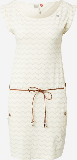 Ragwear Robe d'été en beige / blanc: Vue de face
