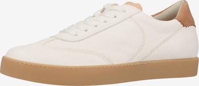 Paul Green Baskets basses en crème, Vue avec produit
