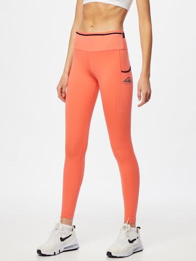 NIKE Спортен панталон в корал, Преглед на модела