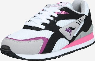 KangaROOS Nízke tenisky 'Runner' - sivá / ružová / čierna / biela, Produkt