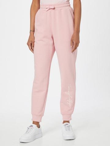 TOMMY HILFIGER Püksid 'ABO', värv roosa