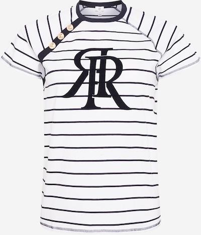 River Island Plus Shirt in navy / weiß, Produktansicht
