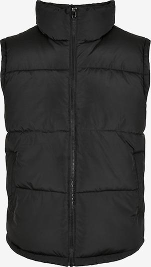 Urban Classics Big & Tall Bodywarmer in de kleur Zwart, Productweergave
