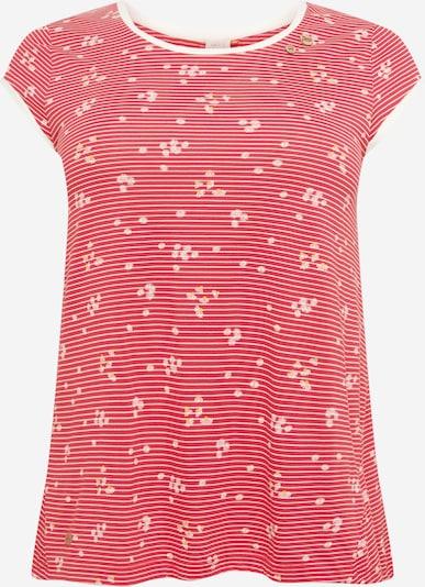 Tricou 'DOMINICA' Ragwear Plus pe galben / roșu / alb, Vizualizare produs