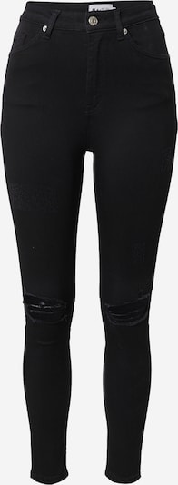 NA-KD Jeans in black denim, Produktansicht