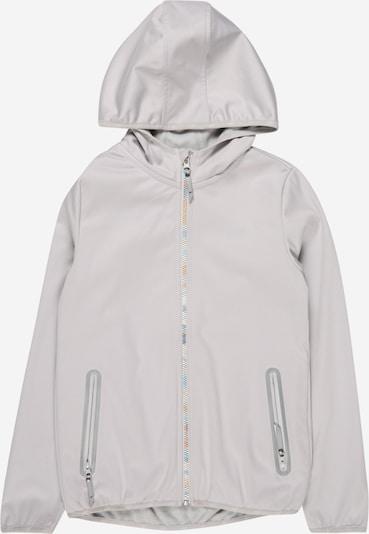 4F Sportjas in de kleur Lichtgrijs, Productweergave