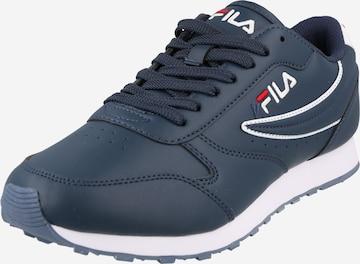 Sneaker bassa 'Orbit' di FILA in blu