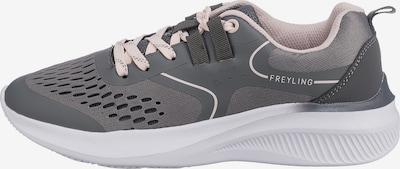 Freyling Sneaker in grau / rosa, Produktansicht