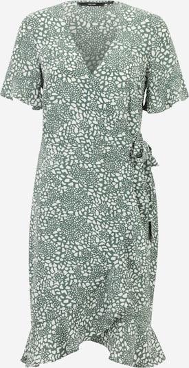 Vero Moda Tall Robe 'SAGA' en émeraude / blanc, Vue avec produit