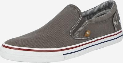 MUSTANG Zapatillas sin cordones en gris humo, Vista del producto