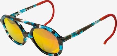 Zoobug Retrosonnenbrille 'Noah' für Kinder in blau / mischfarben, Produktansicht