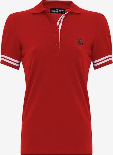 Jimmy Sanders Shirt 'Silvia' in navy / rot / weiß, Produktansicht