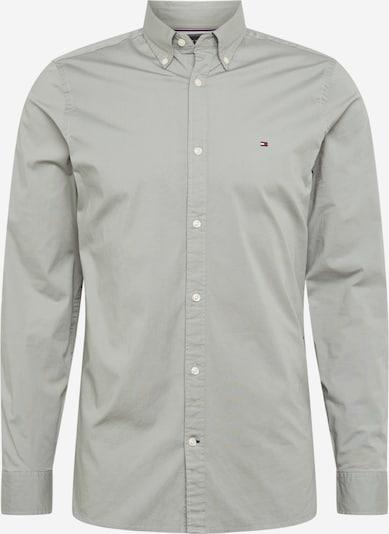 TOMMY HILFIGER Overhemd in de kleur Zilvergrijs, Productweergave