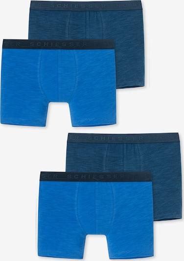 SCHIESSER Onderbroek ' Surfer Style ' in de kleur Nachtblauw / Royal blue/koningsblauw, Productweergave