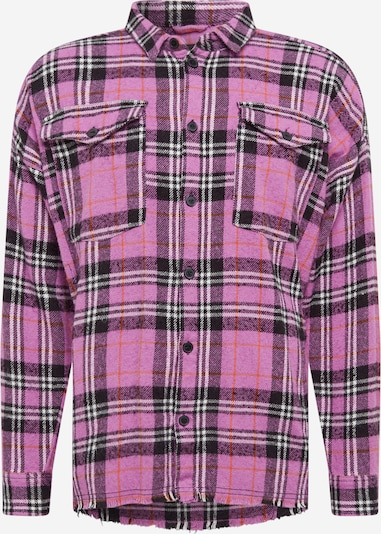 tigha Hemd  'Sloan' in pink / schwarz / weiß, Produktansicht