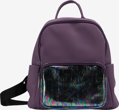 myMo ATHLSR Backpack in Aubergine / Black, Item view
