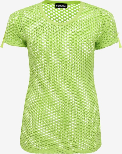 seeyou Shirt in grün, Produktansicht