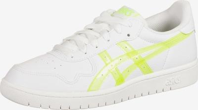 ASICS SportStyle Sneaker 'Japan S' in neongelb / weiß, Produktansicht