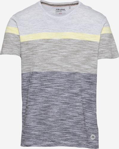 BLEND Tričko - modrý melír / žlutý melír / antracitová, Produkt