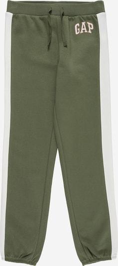 Pantaloni GAP pe kaki / alb, Vizualizare produs