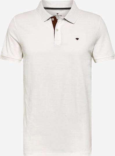 TOM TAILOR Shirt in de kleur Offwhite: Vooraanzicht