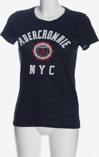Abercrombie & Fitch T-Shirt in L in blau / rot / weiß, Produktansicht