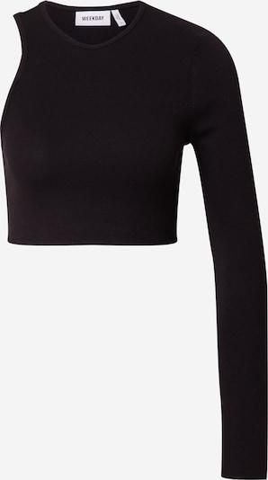WEEKDAY Shirt 'Leonie' en schwarz, Vue avec produit